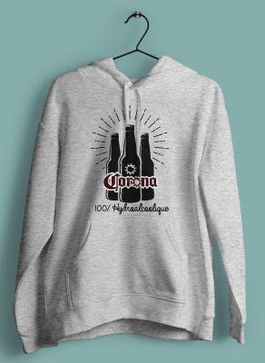 "SWEAT ""CORONA 100% HYDRO ALCOOLIQUE"""
