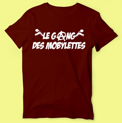 "TEE-SHIRT ""LE GANG DES MOBYLETTES"""
