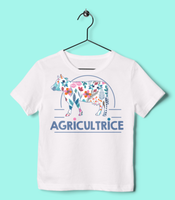 TEE SHIRT ENFANT AGRICULTRICE
