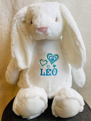 PELUCHE LAPIN PERSONNALISABLE