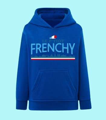 "SWEAT ENFANT "" LE P'TIOT FRENCHY"""