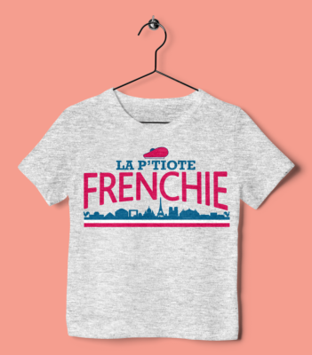 "TEE SHIRT ENFANT ""LA P'TIOTE FRENCHIE"""
