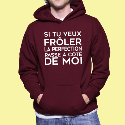 "SWEAT ""FRÔLER LA PERFECTION"""