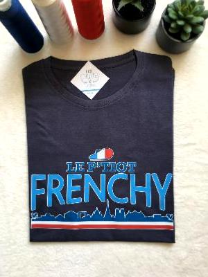 "TEE-SHIRT  ""LE P'TIOT FRENCHY"""