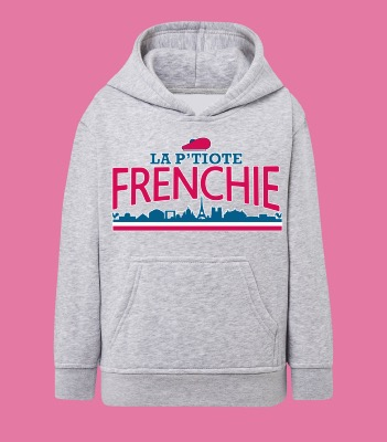 "SWEAT ENFANT "" LA P'TIOTE FRENCHIE"""