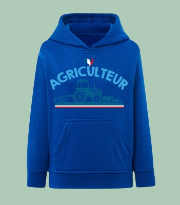 "SWEAT ENFANT "" AGRICULTEUR"""