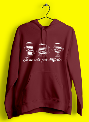 "SWEAT ""BLONDE BRUNE ROUSSE"""